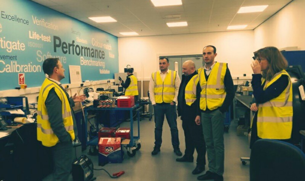 "Business visit of ""Tegeta-motors"" to Great Britain, in ""RING AUTOMOTIVE"""